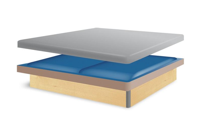 wasserbett classic komplett g nstig. Black Bedroom Furniture Sets. Home Design Ideas