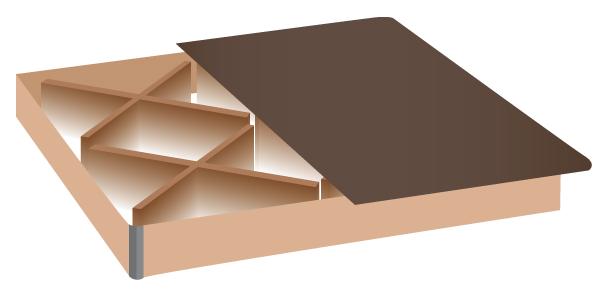 wasserbett 200x220 mit schubladen mesamoll ii midas24. Black Bedroom Furniture Sets. Home Design Ideas